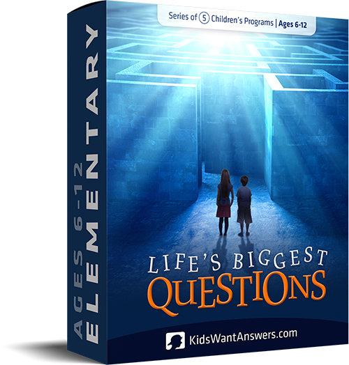 Life's Biggest Questions …about God | KidsWantAnswers